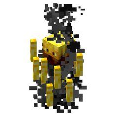 24 Tall Blaze Minecraft Wall Decal by WilsonGraphics on Etsy, $16.00 i love minecraft blazes