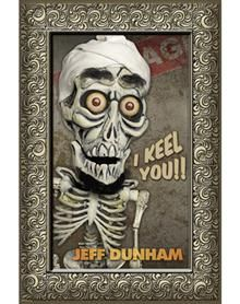 jeff dunham talking keychain set set of 3 key chains speak. Black Bedroom Furniture Sets. Home Design Ideas