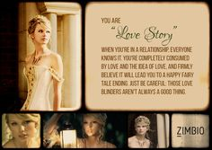"""I took Zimbio's Taylor Swift quiz and my song is """"Love Story""""! What's yours? #ZimbioQuiznull - Quiz"""