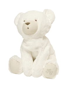 Prosper the polar bear, soft toy  of  60 cm in synthetic fur.