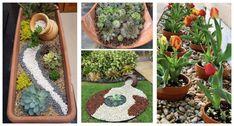 Perfektné nápady do záhrady a a terasu zo starých črepníkov.