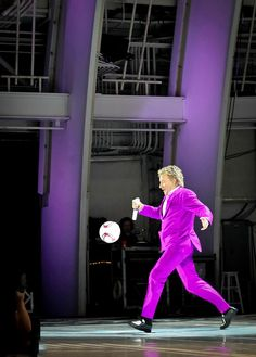 """Rod Stewart Soccer Ball Photograph  - Fine Art Print"""