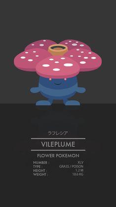 Vileplume by WEAPONIX on deviantART