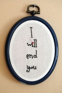 15 Totally Inappropriate Embroidery Hoops