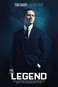 Legend - Tom Hardy as Reggie Kray. One half of the notorious Kray twins #GangsterMovie #GangsterFlick