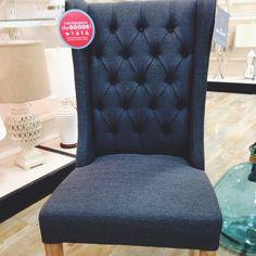 Grayish Armless Chair