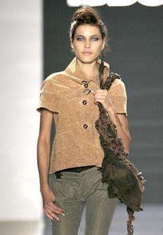 Cork Clothes - and it's taking off.    Cork fashion is much less stiff than you'd think, and designers…