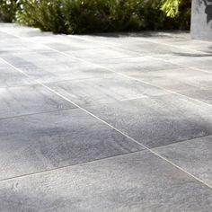 Carrelage Vestige PREMIUM en grès, gris, 30 x 30 cm