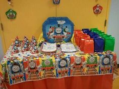 Thomas and friends Birthday Party Ideas | Photo 7 of 10 | Catch My Party