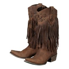 Fringe cowboy boots by Lane Boots