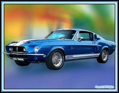 this is the car i was named after. 1965 Shelby GT500.