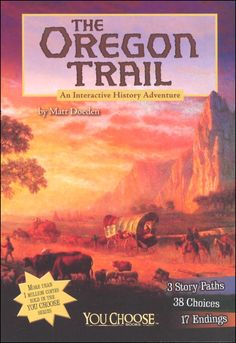 Oregon Trail: An Interactive History Adventure (You Choose: History) | Main photo (Cover)