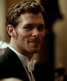 Joseph Morgan <3 I'm developing a crush on him after like two years of disliking him.