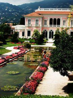 Villa Ephrussi de Rothschild in Saint-Jean-Cap-Ferrat, France