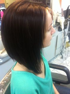 The long Bob Hairstyle. If I ever cut my hair besides a trim, I am going with this