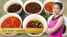 Zes soorten sambal om zelf te maken