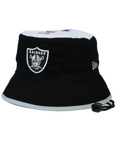 New Era Oakland Raiders Traveler Bucket Hat Hat Men 340f3234bc70