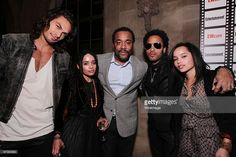 Jason Momoa, Lisa Bonet, Lee Daniels, Lenny Kravitz and Zoe Kravitz at Entertainment Weekly's Party to Celebrate the Best Director Oscar Nominees held at Chateau Marmont on February 25, 2010 in Los Angeles, California.