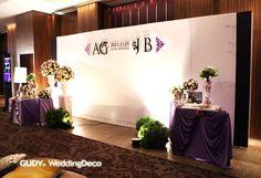 GUDY Wedding 婚禮設計 - {佈置}W hotel Taipei – Sister Wedding