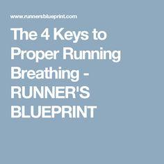 The 4 Keys to Proper Running Breathing - RUNNER'S BLUEPRINT