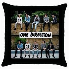 ONE DIRECTION THROW PILLOW CASE $11.99
