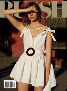 Mali Koopman for Russh August 2016 Cover - Miu Miu Fall 2016
