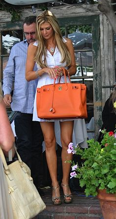 Hermes Orange Birkin Togo Bag With Gold/Silver Hardware - 30 - Gold The pics is from the website: http://www.hbirkinbagoutlet.com A person shall not be reproduced without permission!
