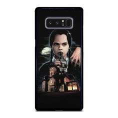Vendor: Camoucase Type: Samsung Galaxy Note 8 Case Price: 14.90  This premium WEDNESDAY ADDAMS Samsung Galaxy Note 8 Case is from strong hard plastic or silicone rubber in black or white color. This case is going to give secure and impressive style to your phone. Every case is printed using best printing machine to provide highest quality image. It is easy to snap in and install the case. The case will covers the back sides and corners of phone from scratches and bumps together with amazing… Galaxy Note 10, Samsung Galaxy Note 8, Galaxy S8, Iphone 11 Pro Case, Iphone 7, Iphone Cases, Wednesday Addams, 6s Plus Case, Silicone Rubber