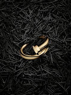 "Juste Un Clou (meaning 'Just a Nail') is the latest Cartier collection of rings and bracelets. These iconic pieces of jewelry were created in the 70s, when the rugged design came to symbolize the ""rebellious spirit and raw energy in New York City"" at the time."
