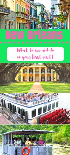 The best day trips and tours you should take to make the most of your trip to New Orleans.