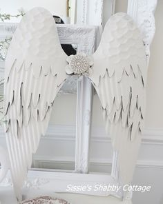 Sissie's Shabby Cottage: Angel Wings and Cuff Bracelets and JDL...