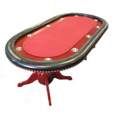 Awesome Trademark Poker 90 Inch Texas Hold Em #Poker #Table With Raceway