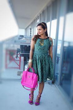 Beautiful Block Printed Dress