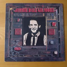 My friend Andrew's LP by Jimmie Dale Gilmore. I suspect Mr Gilmore was a letterpress printer...