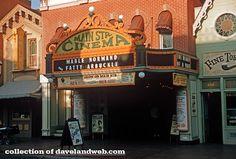 Daveland Disneyland Main Street Cinema Photos