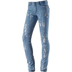 Die Nikota Royal ist eine stylische Slim Fit Jeans mit Alloverprint.