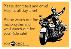 watch for motorcycles quotes - Google Search
