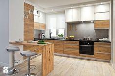 Kuchnia styl Skandynawski - zdjęcie od Castorama - Kuchnia - Styl Skandynawski - Castorama Modern Kitchen Interiors, Home Decor Kitchen, Kitchen Furniture, Kitchen Design, Kitchen Units, Kitchen Pantry, New Kitchen, Küchen In U Form, Kitchen Layout Plans