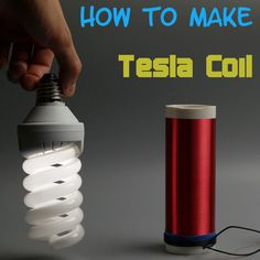 Picture of Simple Tesla coil