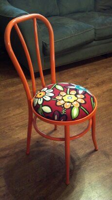 Fully restored 1950's Cafe Chair