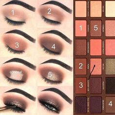 Too Faced eye shadow palette eye makeup step by step tutorial. Brown halo eye makeup, the perfect soft smokey eye for all events. The post Too Faced eye shadow palette eye makeup step by step tutorial. Brown halo eye ma& appeared first on Suggestions. Halo Eye Makeup, Eye Makeup Steps, Simple Eye Makeup, Natural Makeup, Easy Makeup Looks, Soft Eye Makeup, Smokey Eye Makeup Look, Natural Eyeliner, Basic Makeup