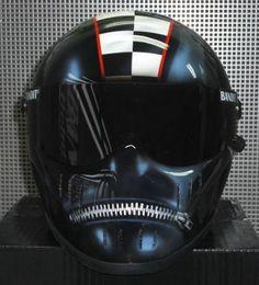 Zippered Bandit Helmet