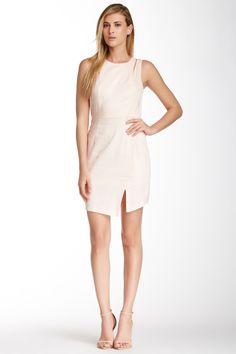 BCBGeneration | Linen Cutout Shoulder Dress | Nordstrom Rack