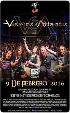 Vision of Atlantis en Ciudad de Mexico