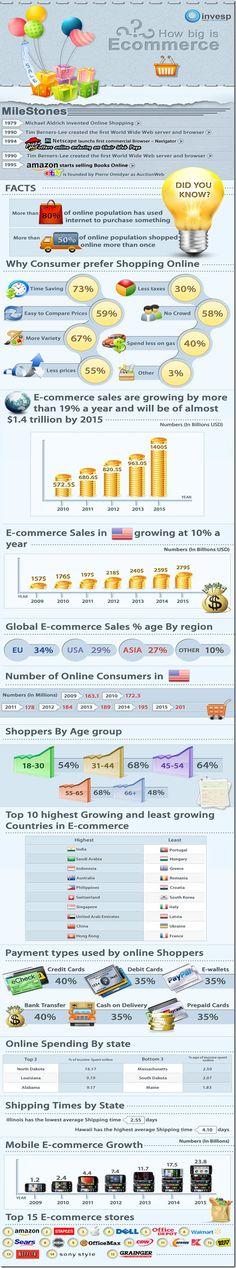 Infografía sobre comercio electrónico #ccentral #fleytong