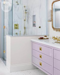 Lovely in Lavender | A Soothing Master Suite