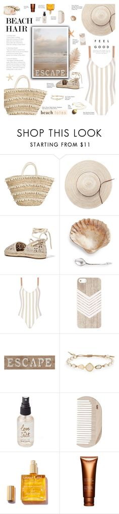 """""""Unstoppable"""" by r-maggie ❤ liked on Polyvore featuring MICHAEL Michael Kors, Rye, Pier 1 Imports, Tai, Olivine, HAY and Clarins"""
