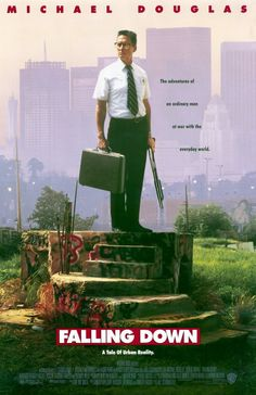 Falling Down , starring Michael Douglas, Robert Duvall, Barbara Hershey Robert Duvall, Barbara Hershey, Film Gif, Film Movie, 90s Movies, Good Movies, Awesome Movies, Michael Douglas Movies, Movies Showing