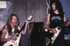 #James Hetfield #Kirk Hammett