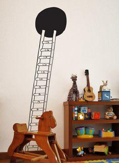 Adesivo de parede: escada métrica: GECKO Adesivos Decorativos